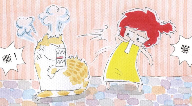 Read more about the article 家裡來了一隻貓 – 13. 捉摸不定的貓脾氣